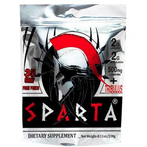 Sparta Pre-Workout Muscle Goodness 35 servicios