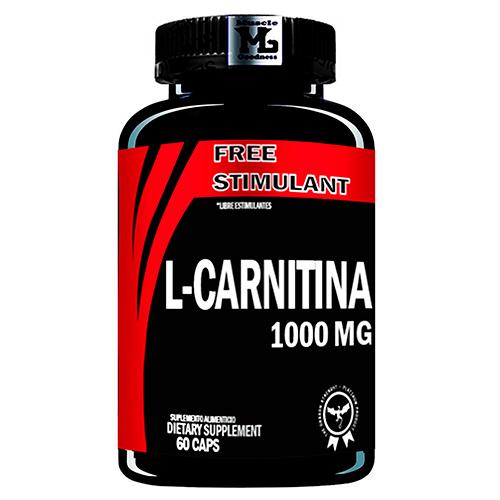 Carnitina 60 caps MUSCLE GOODNESS